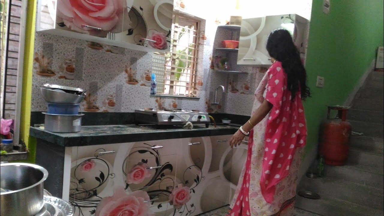 Semi modular kitchen design // digital kitchen