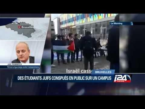Bruxelles: Dérapage antisémite à l'université