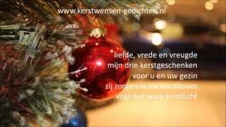 Kerstwens 2016 met mooie kerstgedichten voor kerstkaart