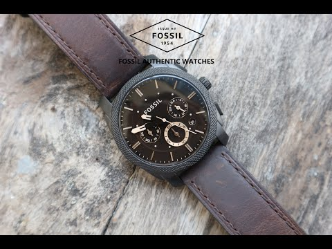 [Circletimevn.com] Đồng Hồ Bấm Giờ Fossil FS4656 Chronograph Quartz