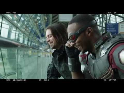 Captain America Civil War Bloopers (2016)