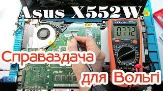 Asus X552W. Фотакалаж. Справаздача для Вольгі