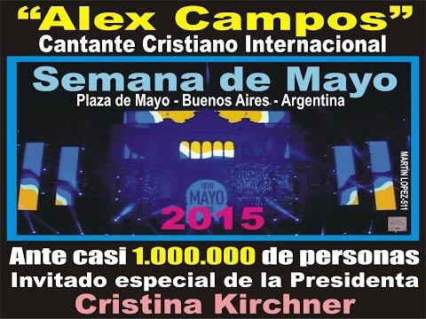 ALEX CAMPOS en Plaza de Mayo-Argentina/2015-PLAN IGUALDAD CULTURAL