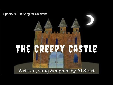 'The Creepy Castle' by Al Start - spooky songs for children to sing in  school with actions
