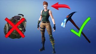 FORTNITE HOW TO REET THE BASE SKIN - DEBUT SAC TO DOS