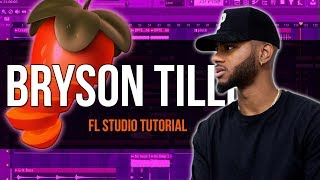 How To Make A Bryson Tiller Type Beat In Fl Studio 12