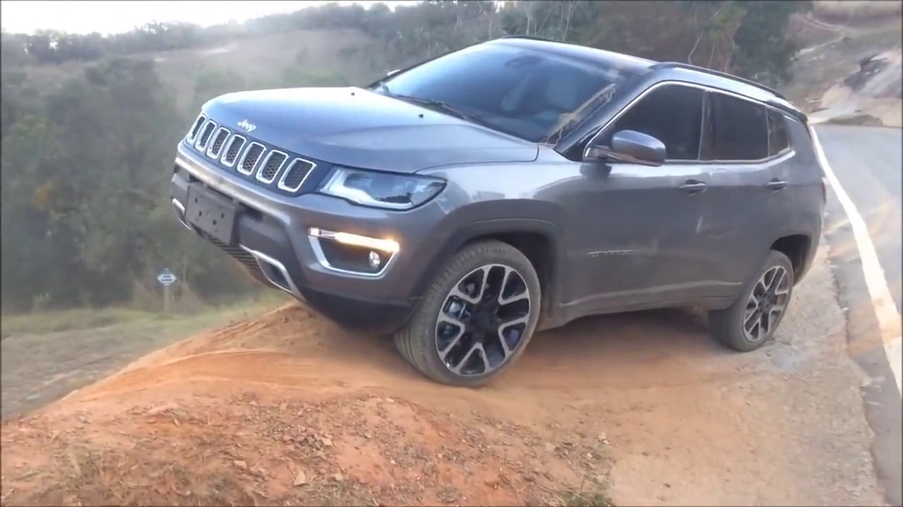 jeep compass 4 4 exclusive offroad review india 2017 youtube. Black Bedroom Furniture Sets. Home Design Ideas