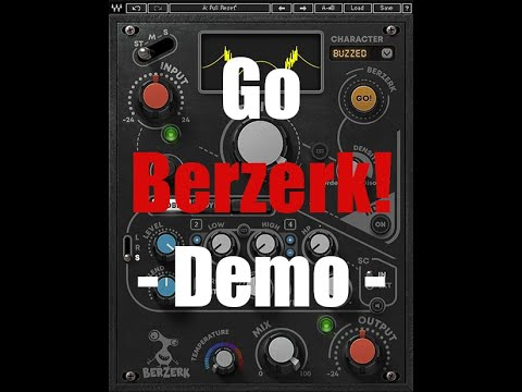 Go Berzerk! Waves Berzerk Demo