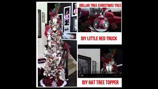 Dollar Tree Christmas Tree Challenge Hosted by Miss FeMarie and Design On A Dollar