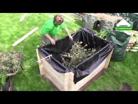 hochbeet selber bauen teil 1 juli 2012 doovi. Black Bedroom Furniture Sets. Home Design Ideas