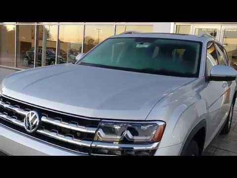 On the lot. 2017 Volkswagen ATLAS V6