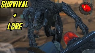 Fallout 4 Survival : After The War, Power Armor, Deathclaws & Pip Boy Lore | Mechgecko