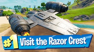 Visit the Razor Crest Location (Special Quest) - Fortnite Battle Royale
