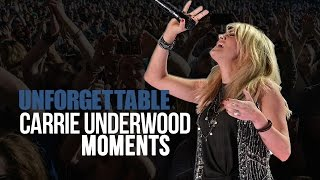 8 Unforgettable Carrie Underwood Moments