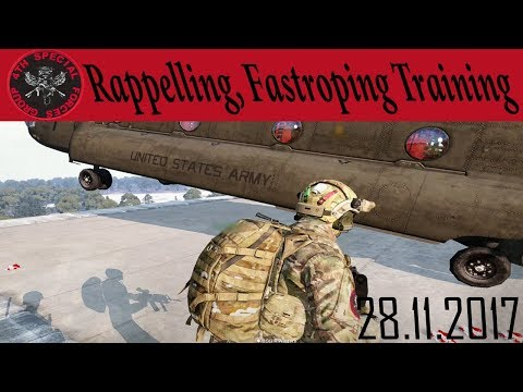 Rappelling and Fast Roping - Arma 3 4th Special Forces Group