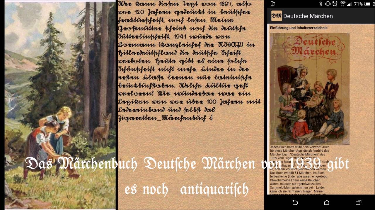 Märchenfestival Grimms Märchen - Vom Buch zur App - YouTube