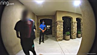 Domino's Pizza Guy Explodes in Anger after not being tipped (FULL VIDEO)