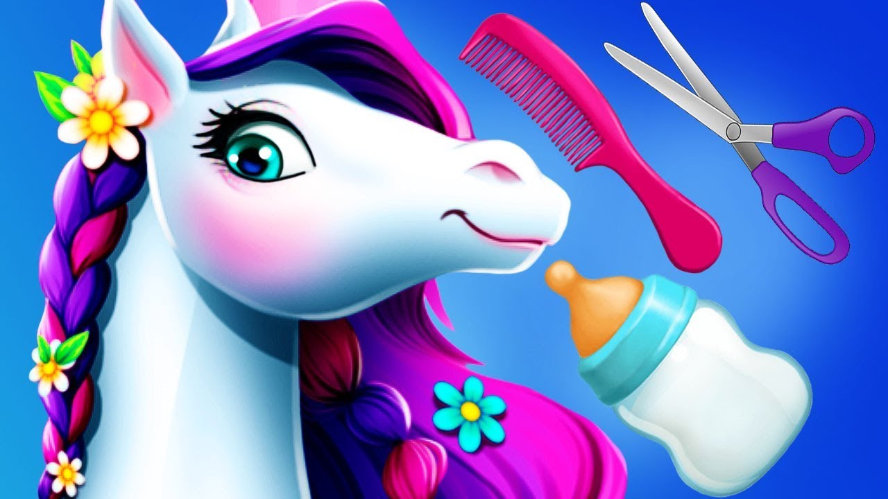 Fun Horse Care Games – Pet Pony Tooth Fairy Makeover Clean Up Hair Salon Kids & Girls Games