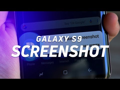 The 6 ways to take a screenshot on the Samsung Galaxy S9/S9 Plus