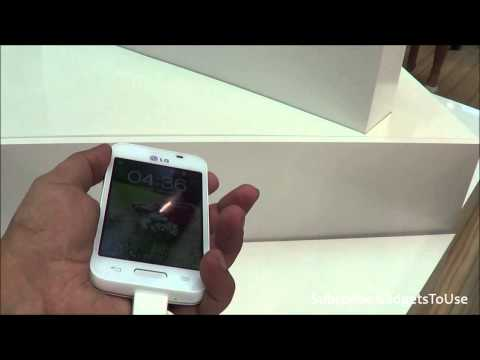 LG L40 Series 3 Hands on, Quick Review, Camera, Features and Overview HD at MWC 2014