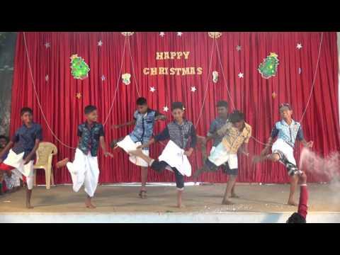 tamil christian dance: yaesu chisthuvin naamam, IPA CHURCH KINATHUKADAVU Christmas 2015