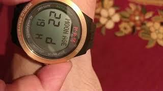 Налаштування годинника альхарамайн (зміна мови, будильник, 24 формат)