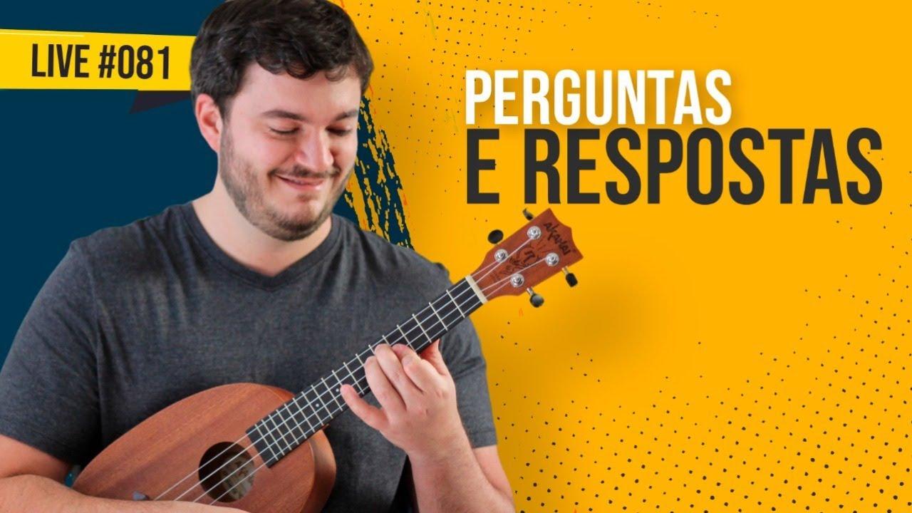 #MateusResponde - Perguntas e Respostas sobre ukulele | AULA AO VIVO #081