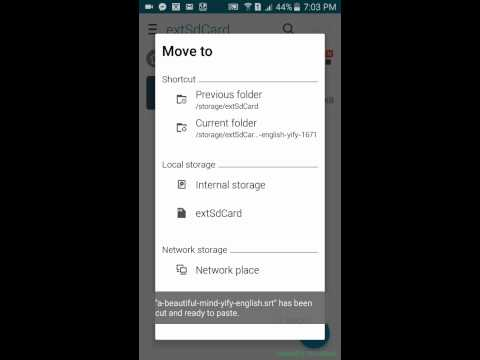 How to add subtitles in a movie (android device)