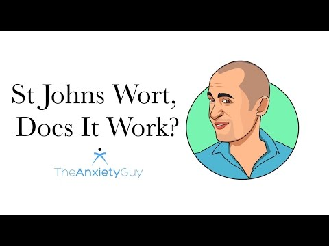 St Johns Wort For Anxiety, Does It Work?