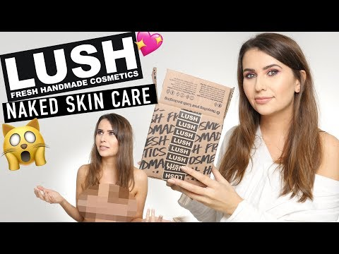 Lush Naked Skincare Cruelty Free & Vegan - Logical Harmony