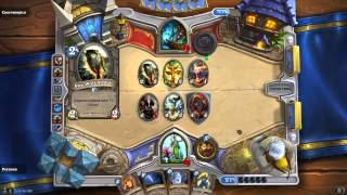 HearthStone Heroes of Warcraft - Druid vs Shaman (Arena) - Force of Nature