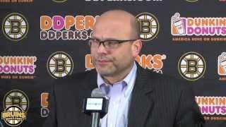 Bruins GM Peter Chiarelli Comments On 2015 Trade Deadline