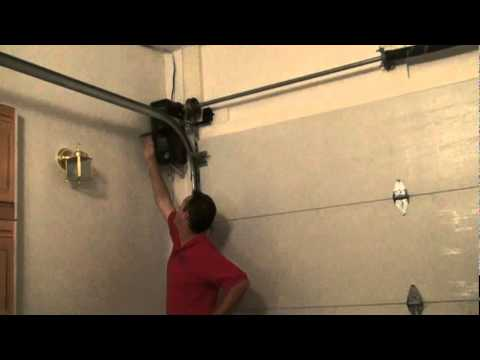 side mount garage door openerLift Master model 3800 Jackshaft Garage Door Openermpg  YouTube