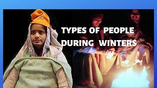 Types of  People During Winters | The Twin Sisters