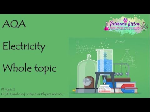 The whole of AQA - ELECTRICITY  GCSE 9-1 Physics or Combined Science