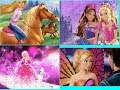 Cartoon Barbie Puzzle Games For Kids Jigsaw Games