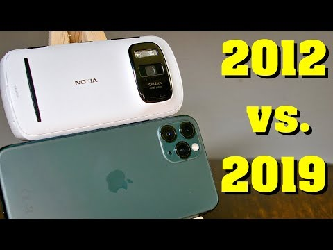 IPhone 11 Pro Vs. Nokia 808 PureView