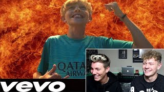 OUR LITTLE BROTHER MADE A DISS TRACK ABOUT US!