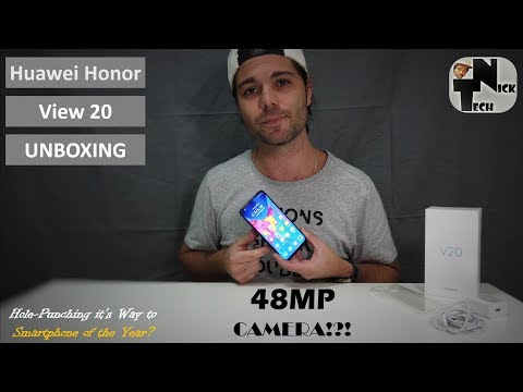 Honor View 20 Unboxing - Hole-Punching it's way to Success