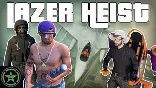 THE LAZER JOB - GTA V Heist | Let's Play