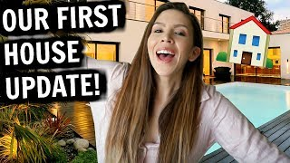 BUILDING OUR DREAM HOUSE! (INTERIOR DESIGN + ANSWERING YOUR QUESTIONS)