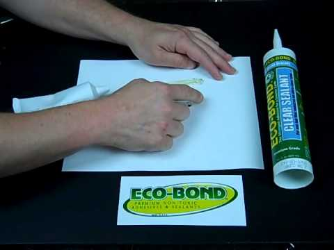 ECO BOND Heavy Duty Clear Application Demo Video