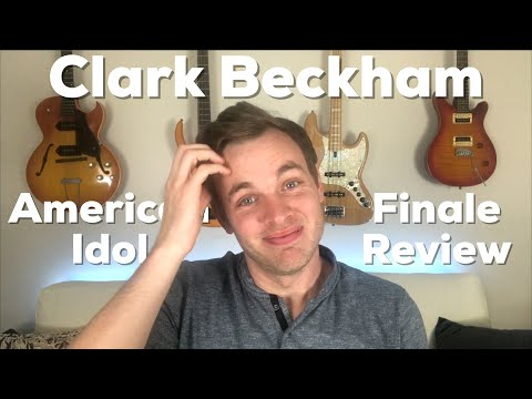 Clark Beckham Makes Epic Discovery - American Idol Finale Review