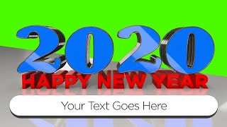 Top 10 Green Screen 3D Animated Intros Happy New Year 2020