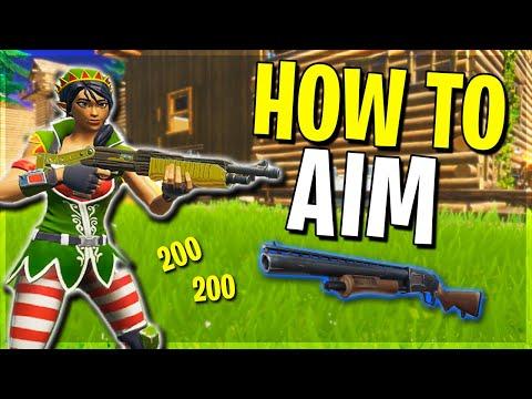 How To Hit MORE Shots! Fortnite Shotgun Tips