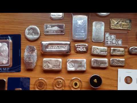 FULL SILVER AND GOLD STACK (100+oz silver/1.1 oz gold)