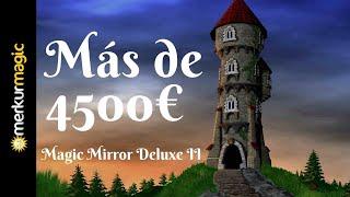 ¡Récord De España! Más de 4500€ de Bonus Magic Mirror Deluxe II Merkur Magic se porta jugando a 20€