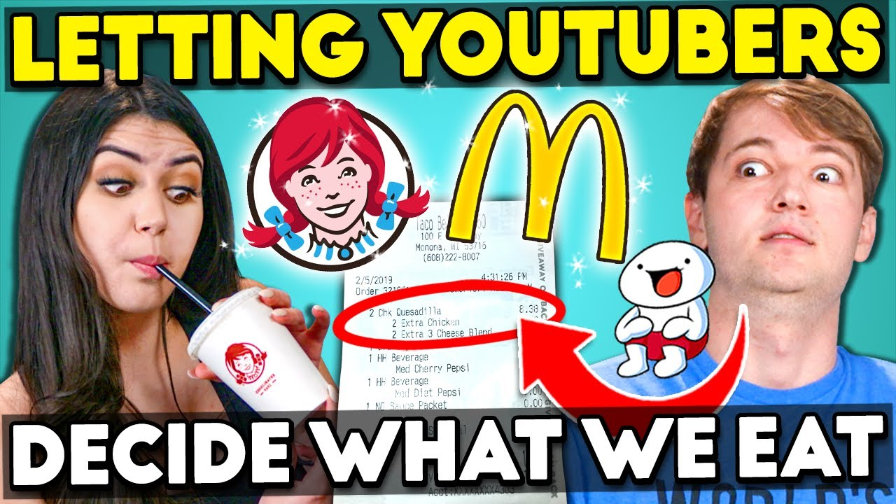 Generations React To Letting YouTubers Decide What I Eat For 24 Hours