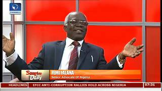 #ENDSARS Not The Solution,Checkmate Abuse With The Constitution-- Falana