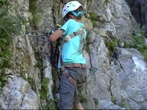 Klettersteig Oostenrijk : Klettersteigen oostenrijk 2013 youtube